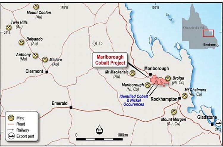 Marlborough cobalt project