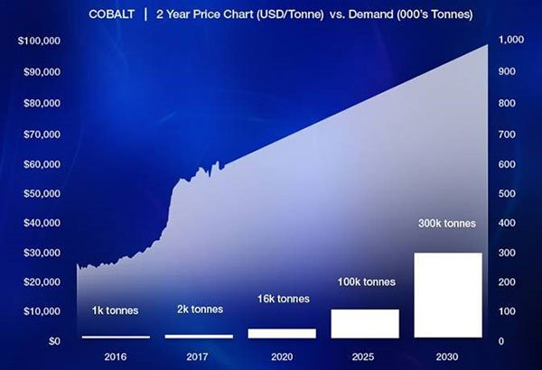Two year cobalt price